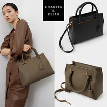★Charles & Keith★Simple Pendant Single Shoulder Bag★2色