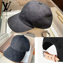 ◆NEW IN◆ LOUIS VUITTON モノグラム ハット キャップ 黒