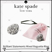 Brilliant Statements Mixed Baguette Ring☆DHL送料込
