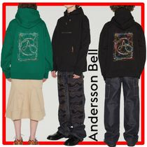★【ANDERSSON BELL】★RAINBOW EMBROIDERY HOODI.E★フーディ