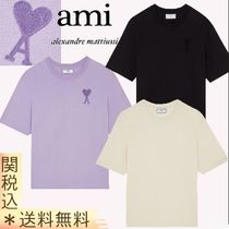 【AMI Paris】 Oversized Heart T-Shirt