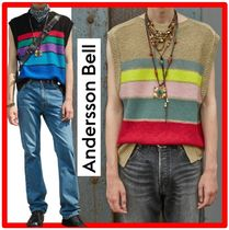 ★【ANDERSSON BELL】★UNISEX LONDON BOAT NECK KNIT VES.T★