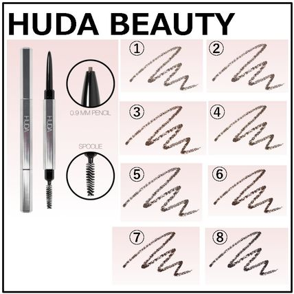 【HUDA BEUATY】BOMBBROWS Microshade Brow Pencil