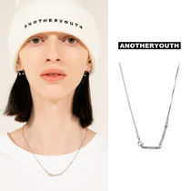 ANOTHERYOUTH(アナザーユース) ネックレス・ペンダント ANOTHERYOUTH正規品★21SS★バーペンダントネックレス