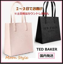 TED BAKER(テッドベーカー) ハンドバッグ 【国内発送】TED BAKER☆ ロゴ leather small shopper