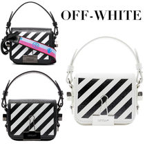 【OFF-WHITE オフホワイト】DIAGO FLAP BABY クロスボディバッグ