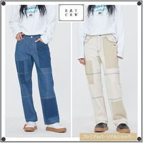 日本未入荷ROMANTIC CROWNのKNEE STITCH DENIM 全2色