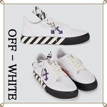 VIP価格 【OFF - WHITE】LOW VULCANIZED SNEAKERS