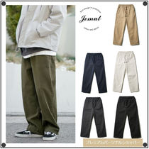 JemutのWashing Wide Banding Pants 全6色