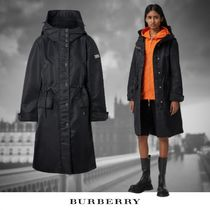 【Burberry】ホースフェリープリント Recycledナイロン パーカー