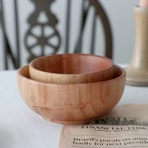 【April in May】Mahogany Wood Bowl Lサイズ2個セット