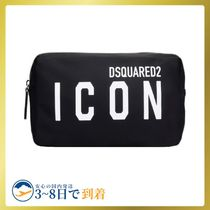 D SQUARED2(ディースクエアード) メンズビューティーその他 ◆送関込◆Dsquared2 Beauty Case In Black Nylon