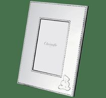 Christofle(クリストフル) インテリア雑貨・DIYその他 Christofle♪ CHARLIE BEAR Silver plated picture frame 10x15