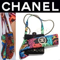 CHANEL バッグ トート マト チェーン フラップ 3WAY 直営店 限定