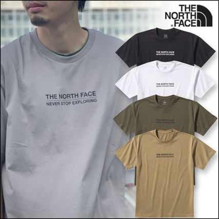 国内発送★THE NORTH FACE S/S MESSAGE LOGO TEE