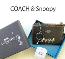 COACH & Snoopy◆ID&コインケース☆スヌーピー (追跡付き)