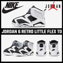 【NIKE】 JORDAN 6 RETRO LITTLE FLEX TD