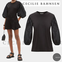 ■Cecilie Bahnsen■candy balloon sleeve コットントップ black