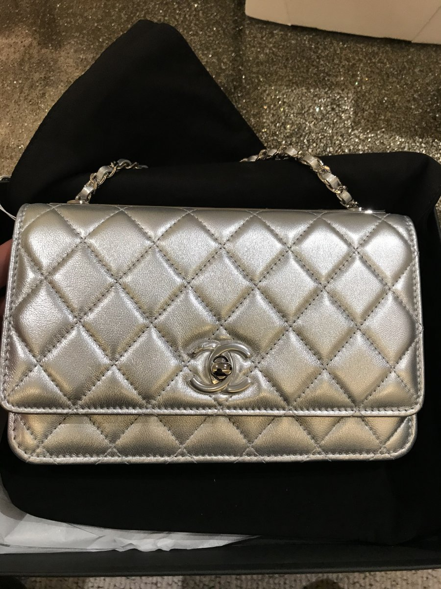 2021CHANEL★SS新色入荷★Trendy CC WOC in SILVER (CHANEL/財布・小物その他) 65690945
