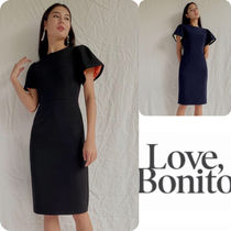 日本未入荷☆Love Bonito☆FLARE SLEEVE MIDI DRESS☆
