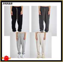 ATTENTIONROW(アテンションロー) ボトムスその他 [ATTENTIONROW] Solid Bright Wide Long Jogger Pants/追跡付