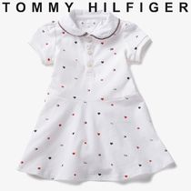 TOMMY HILFIGER BABY プリントポロワンピース 国内買付 すぐ届く