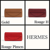 HERMES Lipstick case with mirror 3色 ポーチ 送料込