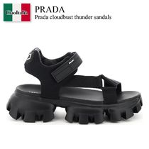 Prada cloudbust thunder sandals