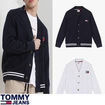 ★Tommy Jeans★『日本未入荷』 Relax fit badge cardigan