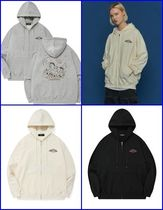 [CPGN STUDIO] COMME WESTON EMBROIDERED HOODED ZIP-UP ●