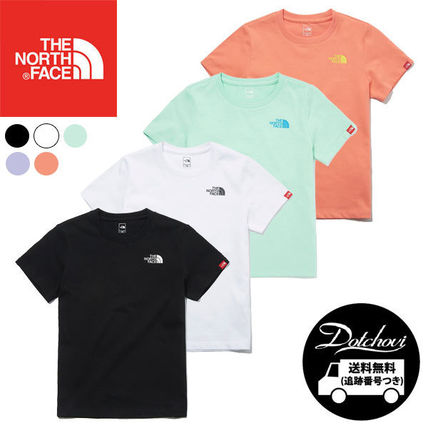 THE NORTH FACE K'S ESSENTIAL LOGO S/S R/TEE MU2095 追跡付
