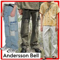 ANDERSSON BELL(アンダースンベル) デニム・ジーパン ★ANDERSSON BELL★PATCHWORK DENIM WIDE-LEG JEAN.S★ジーンズ