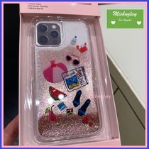 【kate spade】pool party liquid glitter iPhone★11/12各対応