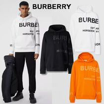 BURBERRY - Horseferry Print Cotton Hoodie (3color)
