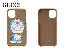 【GUCCI】Case for iPhone 11 Doraemon x Gucci