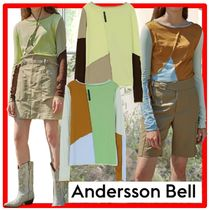 ☆【ANDERSSON BELL】☆JAY RAW-CUT MULTI COLOUR JERSEY TO.P☆
