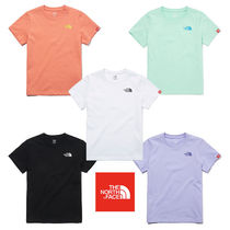 ★THE NORTH FACE★人気★K'S ESSENTIAL LOGO S/S R/TEE NT7UM02