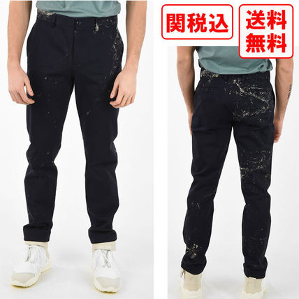 関税 送料込 MAISON MARGIELA MM14 PRINTED CHINO パンツ