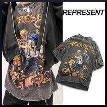 【ロックレジェンド】REPRESENT MEGADETH VIC GOES TO HELL TEE