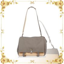 ☆SEAL☆Leather PS LARGE COURIER Satchel Bag