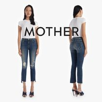 MOTHER(マザー) デニム・ジーパン 即発★Mother★THE INSIDER CROP STEP FRAY 1157-617-WWF