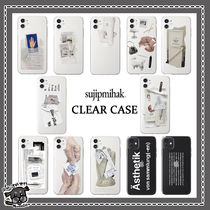 【Sujipmihak】 jelly Clear iPhone Case 12種類 (送料/関税無)