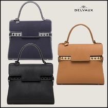 ★DELVAUX★Tempete PM ハンドバッグ 3色
