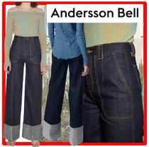 ☆ANDERSSON BELL☆MONA SELVEDGE TURN-UP TROUSER.S☆ジーンズ