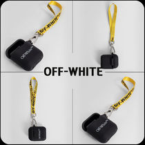 [OFF-WHITE]★韓国大人気★Lettering AIRPODS CASE