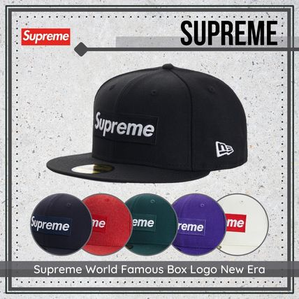 {Supreme} Supreme World Famous Box Logo New Era 送料関税込