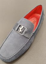 VIPセール60%オフ【TODS FOR FERRARI LEATHER MOCASIN】