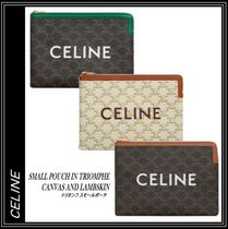 【CELINE】SMALL POUCH TRIOMPHE◆トリオンフ スモールポーチ♪