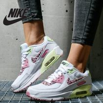 "NIKE★キッズ 入手困難 AIR MAX 90 GS ""ヒョウ柄"" 大人OK"