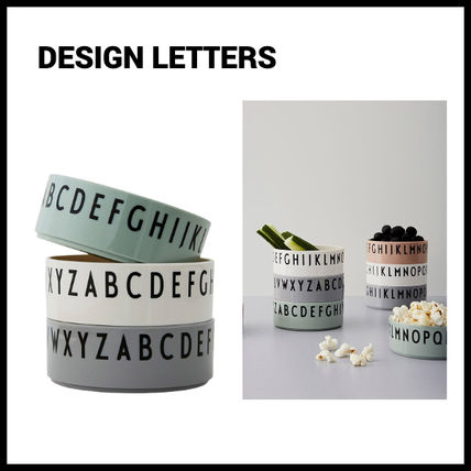 DESIGN LETTERS 食器(皿) 【Design Letters】A to Z ボウルセット【3セット】